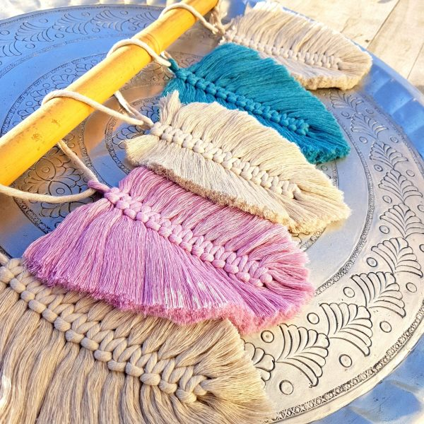 Macrame Workshop Feathers - Art Workshops - Javea - Casa de los Sentidos - 6