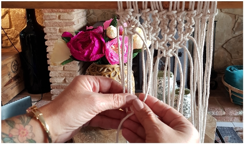 Macrame Wall hanging workshop @ Casa de los Sentidos in Javea - FP3