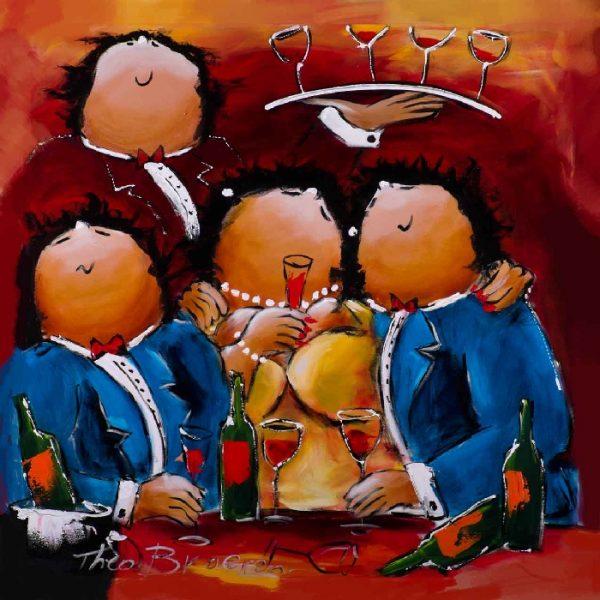 Dikke Dames Paintings by Theo Broeren @ Casa de los Sentidos - Javea - Spain - La vie est Belle