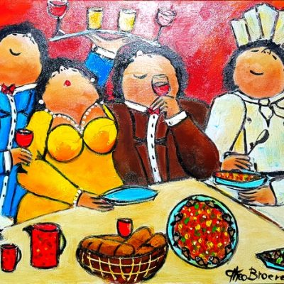 Dikke Dames Paintings by Theo Broeren @ Casa de los Sentidos - Javea - Spain - Spanish life