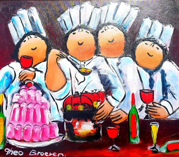 Dikke Dames Paintings by Theo Broeren @ Casa de los Sentidos - Javea - Spain - The 4 cooks